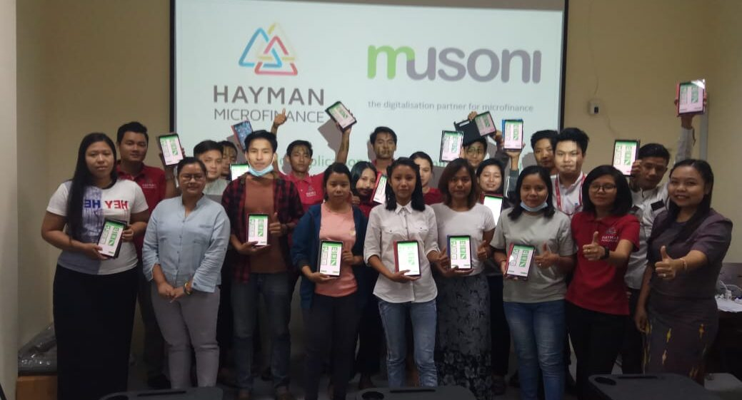 Hayman commence Musoni DFA rollout