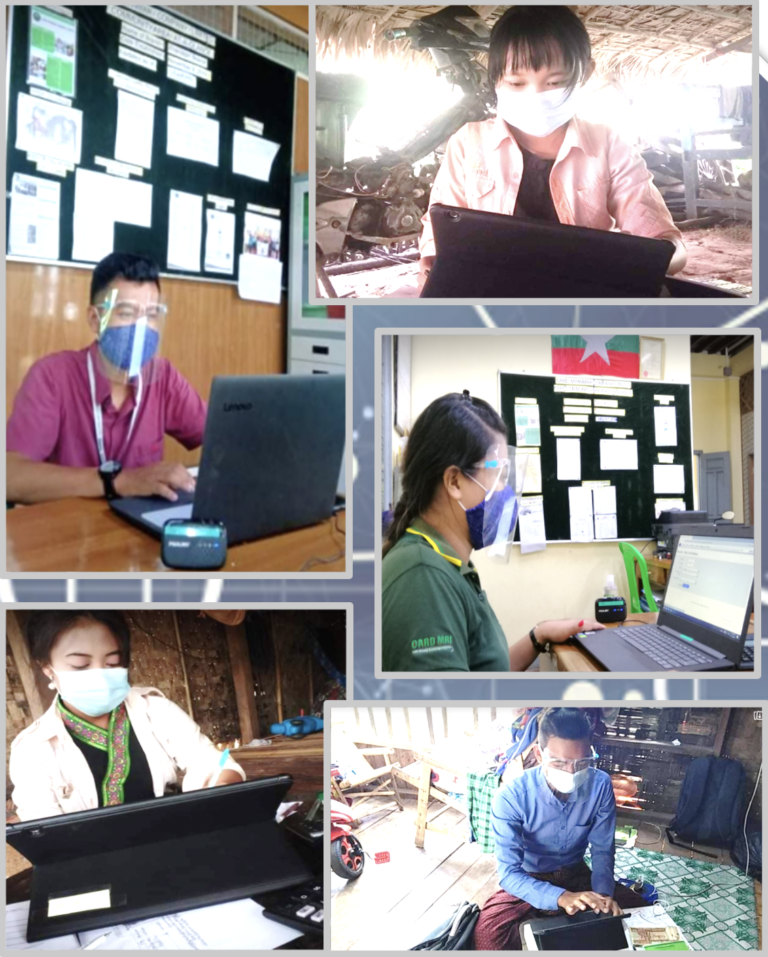 CARD Myanmar achieve real impact in 3 months after going live