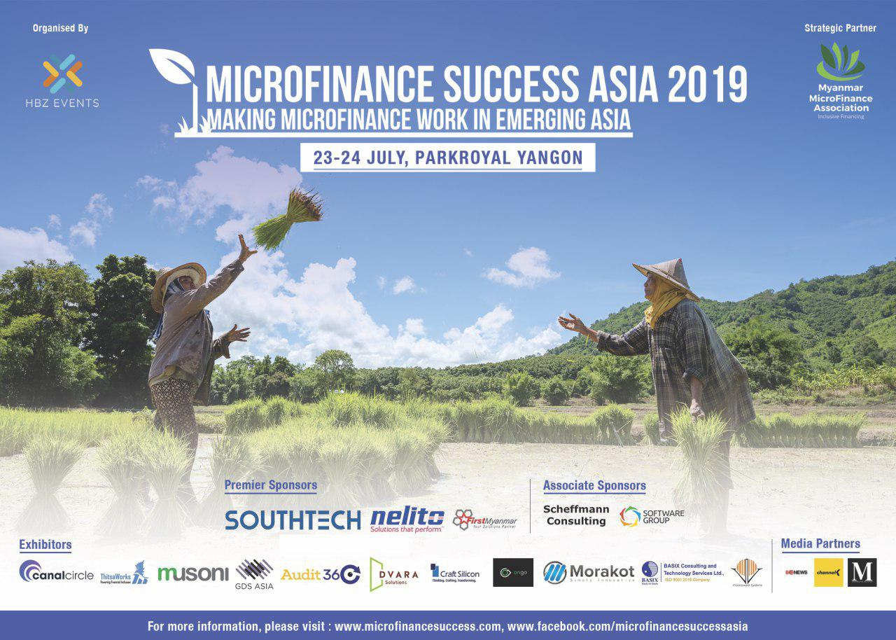Musoni sponsors first ever 'Microfinance Success Asia' event in Myanmar