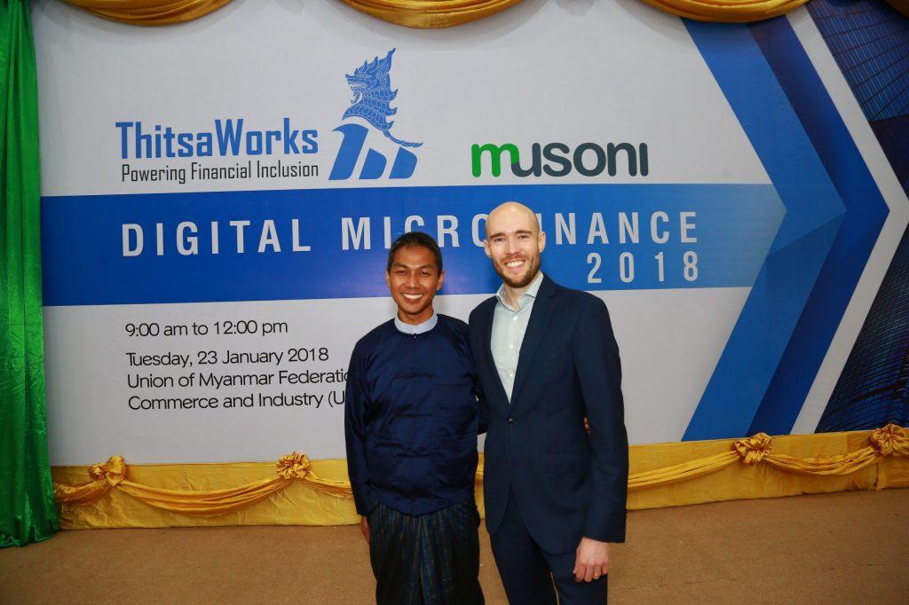 ThitsaWorks & Musoni hold Digital Microfinance 2018 in Yangon
