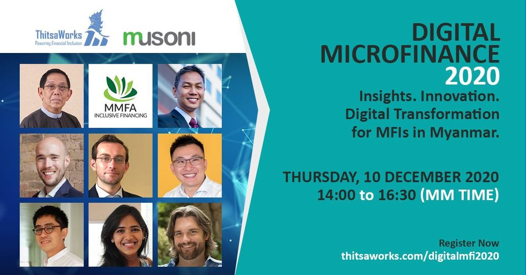 Musoni's CEO presents at Digitalisation Myanmar 2020