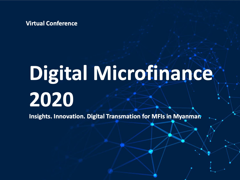 Digital Microfinance 2020 in Myanmar